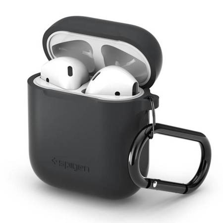 SPIGEN APPLE AIRPODS CASE CHARCOAL